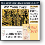 ON YOUR TOES / PAL JOEY - STUDIO CASTS (STAGE 9002)