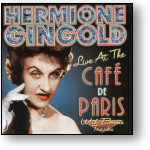 HERMIONE GINGOLD - LIVE AT THE CAFE DE PARIS (STAGE 9010)