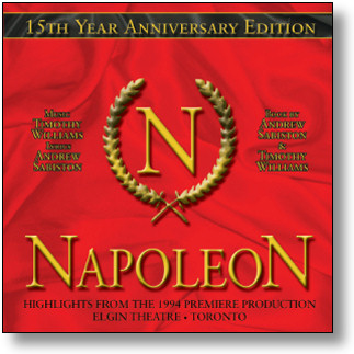 NAPOLEON - ORIGINAL CAST RECORDING (STAGE 9015)