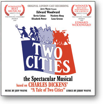 TWO CITIES - ORIGINAL LONDON CAST RECORDING (STAGE 9045)