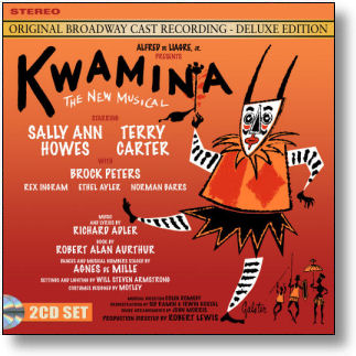 KWAMINA - ORIGINAL BROADWAY CAST RECORDING DELUXE EDITION (STAGE 9069)
