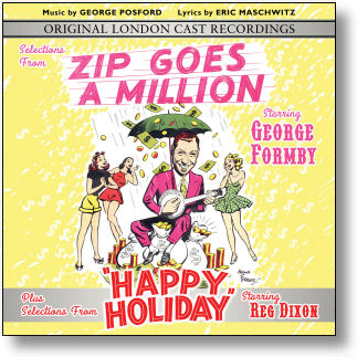 SELECTIONS FROM 'ZIP GOES A MILLION' & 'HAPPY HOLIDAY' (STAGE 9074)